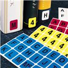 Image of Brodart Vertical Individual Letter Sheets -- W