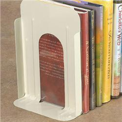 Brodart Non-Losable Metal Book Supports with Rubber Cork Base