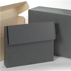Tyvek® Laminated Gray/White Document Storage Cases