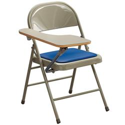 KI® Miracle Fold Tablet Arm Folding Chairs