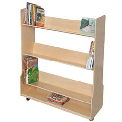 Wood Designs™ Book Display Cart