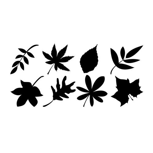 Brodart Leaves Vinyl Wall Art