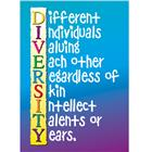 Image of Trend Enterprises Diversity Poster