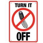 Image of Trend Enterprises Turn It Off (Cell Phone) Poster