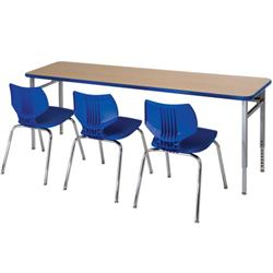 Smith System Planner™ Three-Student Desks