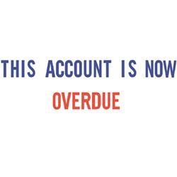 Xstamper Account Overdue