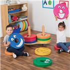Image of Kalokids™ Multi-Cushion Donut Cart & Emotions™ Donut Cushions