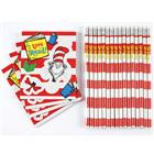 Image of Eureka® Dr. Seuss™ Cat in the Hat™ Pencils and Toppers