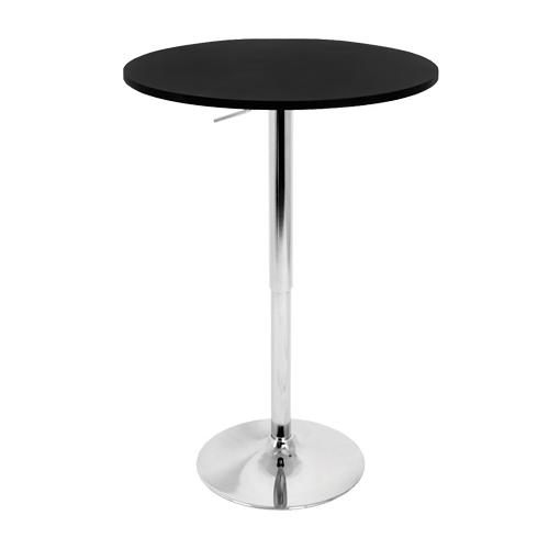 LumiSource AdjustableHeight Café Table - Adjustable height cafe table