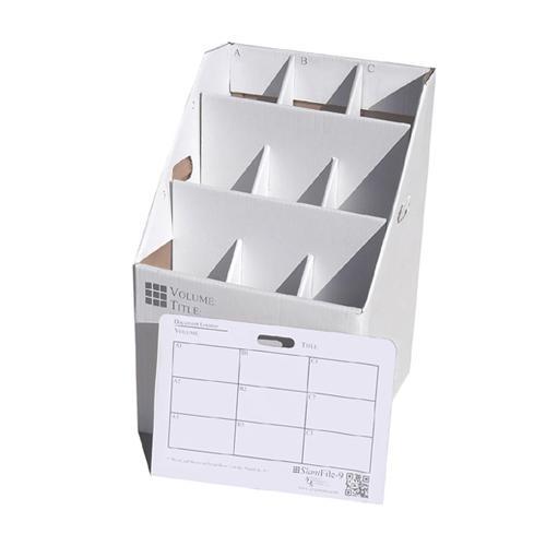 Aos Slantfile Rolled Document Storage Boxes