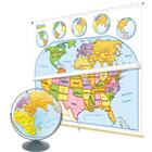 Image of Nystrom Early Learner Maps and Globe Classpack