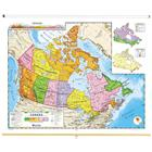 Image of Nystrom Political Relief Map of Canada