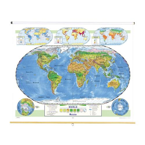 Nystrom land cover world map gumiabroncs Choice Image