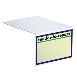 Opening the Book Acrylic Reader to Reader Frames