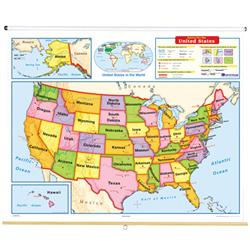 Nystrom Early Learner United States Map - Early-us-maps