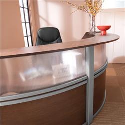Ofm Marque Triple Unit Plexi Reception Desk