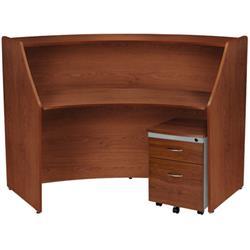 Ofm Marque Single Unit Reception Desk