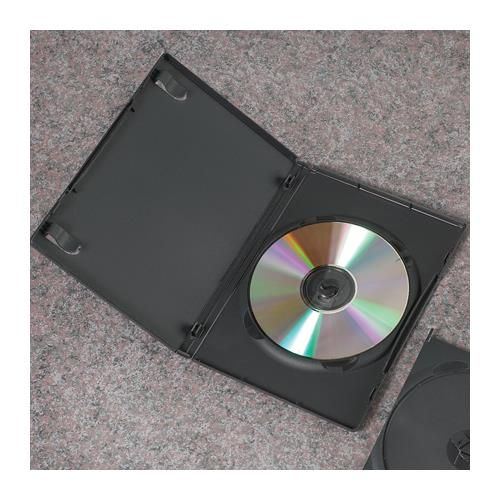 amaray dvd disc case with clips