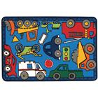 Image of Carpets for Kids® Kid$ Value Rugs™ Wheels on the Go