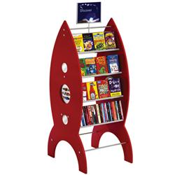 Opening the Book Rocket Pod Book Displayer