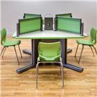 Image of Smith System Acrobat™ I~O™ Post Trapezoid Desk