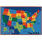 Image of Carpets for Kids® USA Map Value Rug