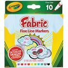 Image of Crayola Fineline Fabric Markers