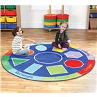 Image of Kalocolor Geomitric Round Carpet