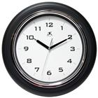 Image of Infinity Instruments Black Deluxe Wall Clock