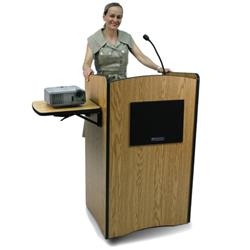 AmpliVox® Wireless Computer Lecterns