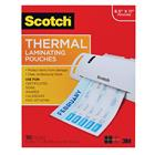 "Image of Scotch® Thermal Laminating Pouches 8 9/10"" x 11 2/5"""