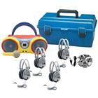 Image of HamiltonBuhl  Kids CD/Karaoke Boombox Listening Center
