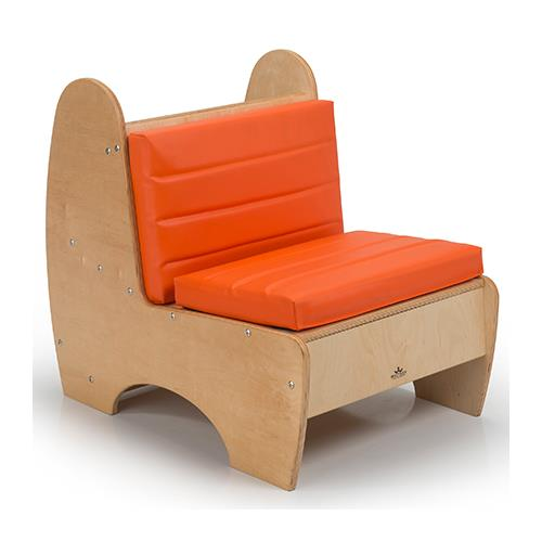 Whitney brothers contemporary children 39 s reading chair for Toddler reading chair