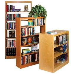 Classic Maple Double-Faced Shelving