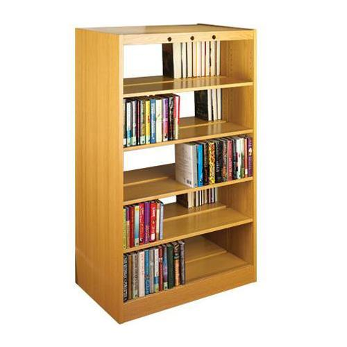 Ovation Oak Double-Faced Shelving