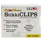 Image of StikkiWorks StikkiCLIPS (Box of 20)