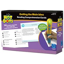 Hot Dots Reading Comprehension Card Set (For Ages 7-11)