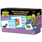 Image of Hot Dots Blends & Digraphs Phonics Activity Cards (For Ages 5-7)