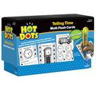 Image of Hot Dots Telling Time Flash Cards (For Ages 6-8)