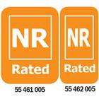 Image of NR-Rated Media Rating Labels