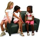 Image of Brand New World Vinyl Upholstered School-Age Sofa