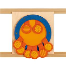 HABA Touch & Feel Pouches Sensory Wall Activity Panel