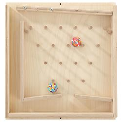 HABA Rubber Ball Stairs Sensory Wall Activity Panel