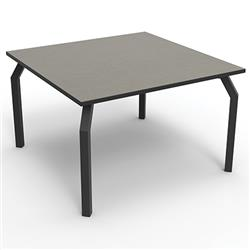 Brodart Array Thermally-Fused Laminate Top Tables with Black PVC Edgebanding