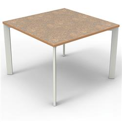 Brodart Array Laminate Top Tables with Wood Edgebanding