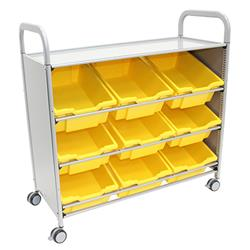 Gratnells Callero Storage Cart with Deep Trays (9)