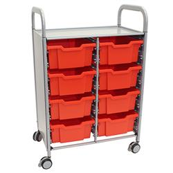 Gratnells Callero Storage Cart with Deep Trays (8)