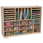 Image of Wood Designs Multi-Storage Mobile Cubby