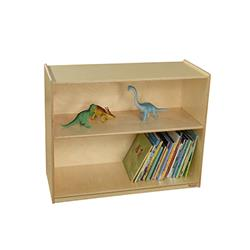 Wood Designs Bookshelves with Adjustable Shelves