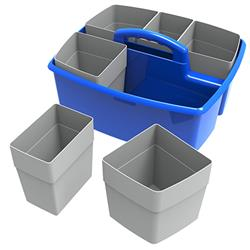 Storex Large Caddy w/Cups, 6 Pack